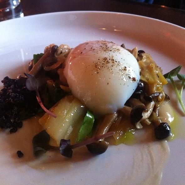 Sous Vide Eggs @ Tabla Mediterranean Bistro