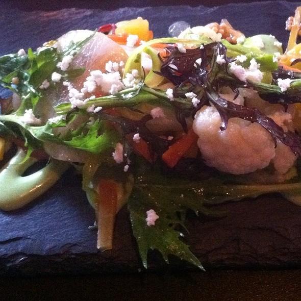 Spring vegetable salad @ Tabla Mediterranean Bistro