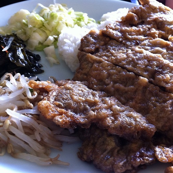 Meat Jun Plate @ Young's Kal Bee