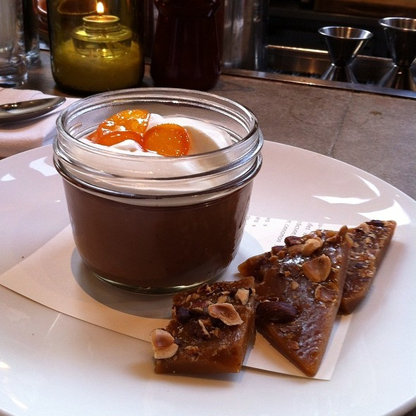 Chocolate Pot de Creme @ Nopa