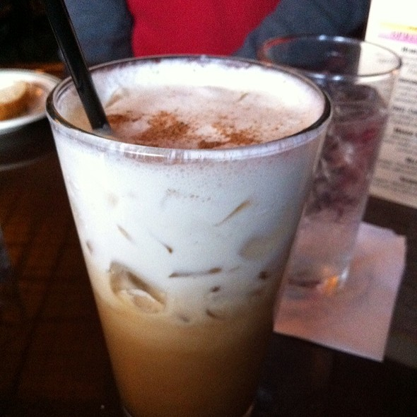 Iced Spanish Coffee - Huber's Restaurant, Portland, OR