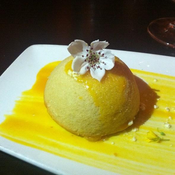Olive Oil Cake @ Tabla Mediterranean Bistro