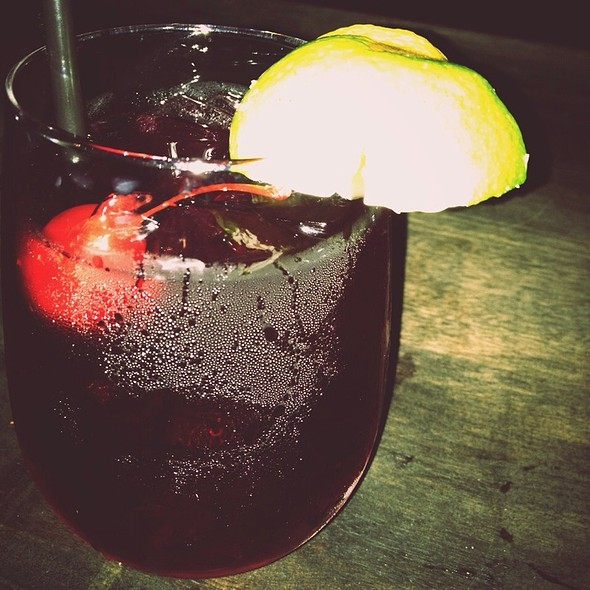 Red Sangria @ Boheme Cafe and Wine Bar