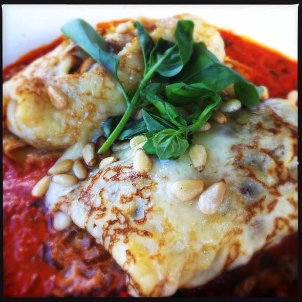 Spinach And Ricotta Crepes @ Mavis's Kitchen