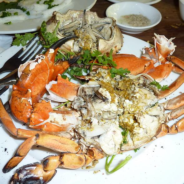 grilled crab @ Nha Hang Ngon