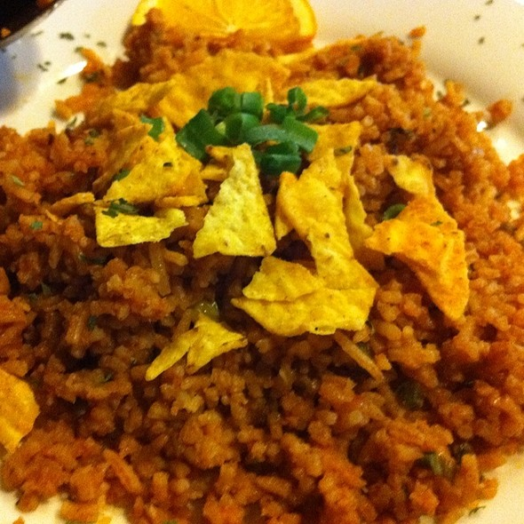mexican rice @ David's Diner