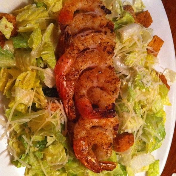 Ceaser Salad With Shrimp @ Outback Steakhouse