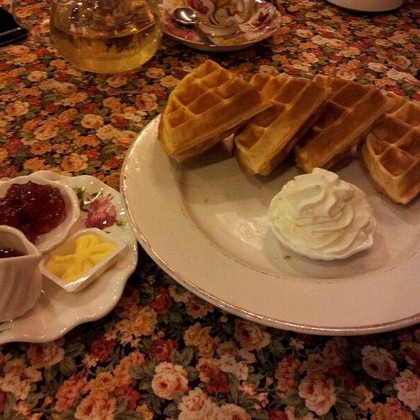 Honey Waffle @ Winter Warmers Coffee & Tea House
