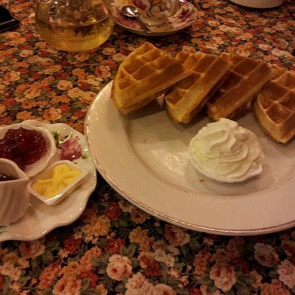 Honey Waffle @ Winter Warmers Coffee & Tea House