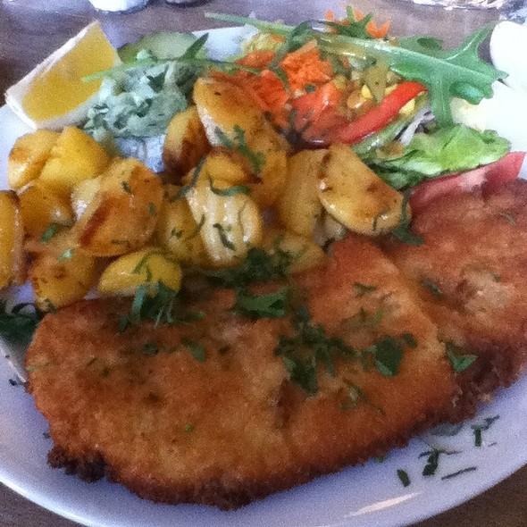 Schnitzel @ Anita Wronski Cafe
