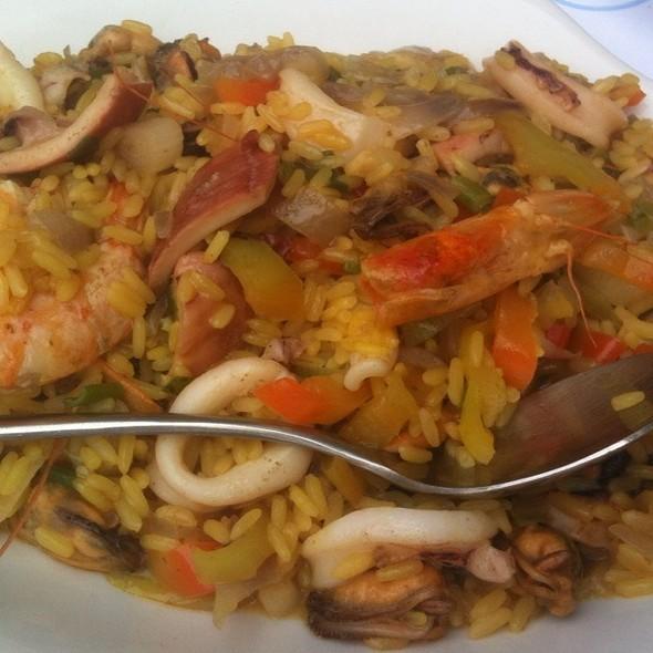 Seafood Paella @ Οινούσσες