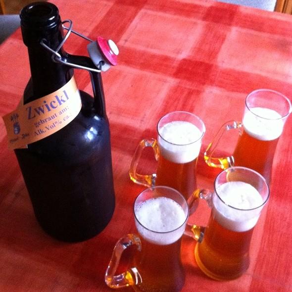 Freshly Brewed Beer @ Ulli & Kurt