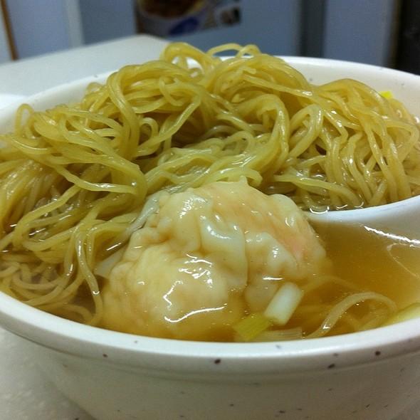 鮮蝦雲吞麵 @ 麥文記麵家 Mak Man Kee Noodle Shop