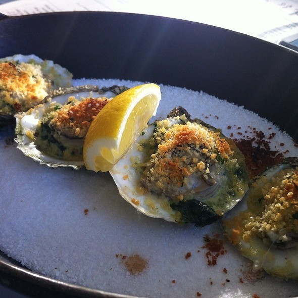 Baked Oysters @ Cookshop Restaurant & Bar