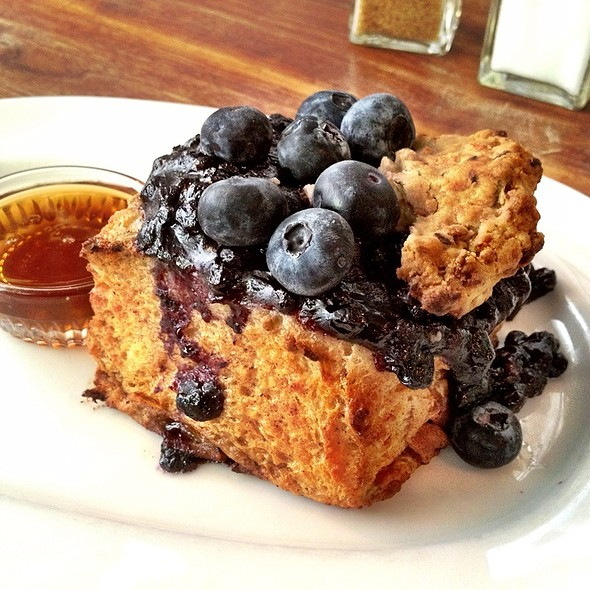 Blueberry French Toast @ Jeffrey's Grocery