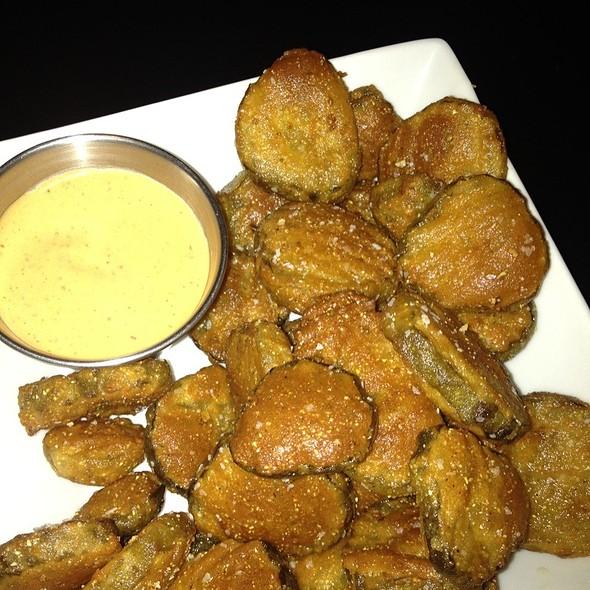 Fried Pickles @ Moutarde, Le Bistro de la Rue