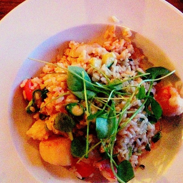 Risotto With Coquilles And Shrimps @ Rootz At The Harbour