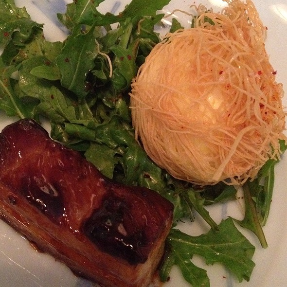 Nesting Egg With Bacon @ The Coop At Gonpachi