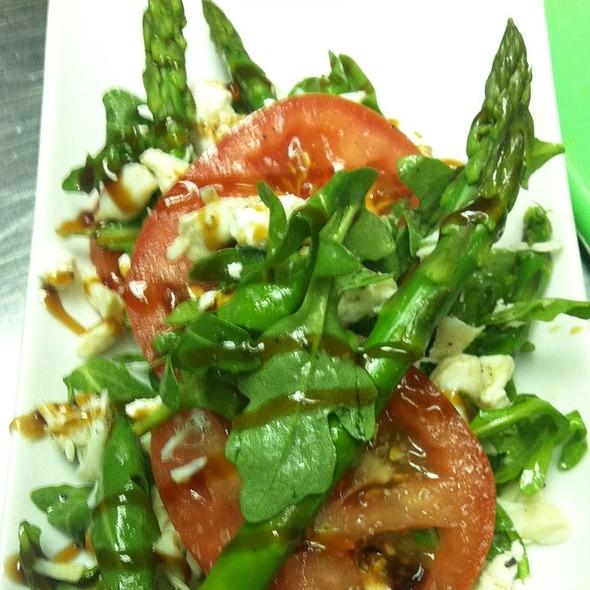Asparagus With Crab And Tomato - Posh at The Scranton Club, Scranton, PA