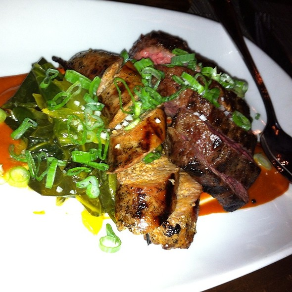 Joule Bbq With Short Rib And Sweet Chili Sausage @ Joule