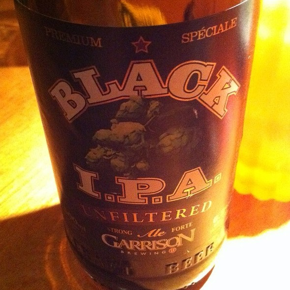 Garrison Brewery Black Ipa @ C'est What?