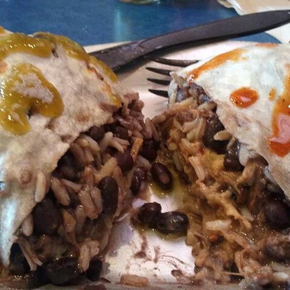 Carnitas Burrito @ Panchero's Mexican Grill