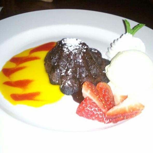Molten Chocolate Cake @ Atlas Restaurant