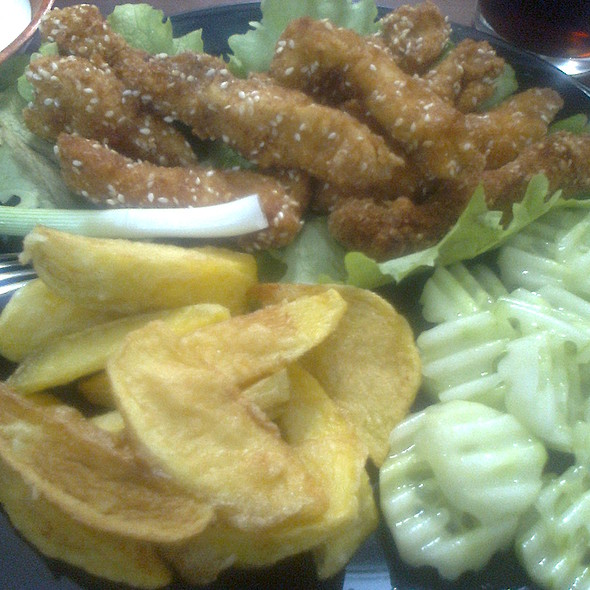 Chicken Fingers with French Fries @ Homemade by Teodora
