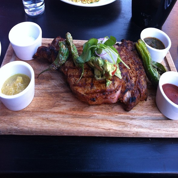 Ribeye Steak Sandwich @ Yerbabuena
