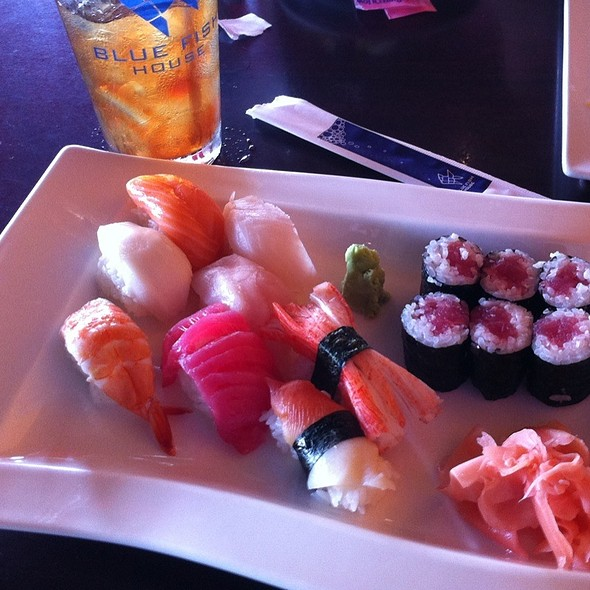 Assorted Sushi @ Blue Fish House II - Sushi & Grill