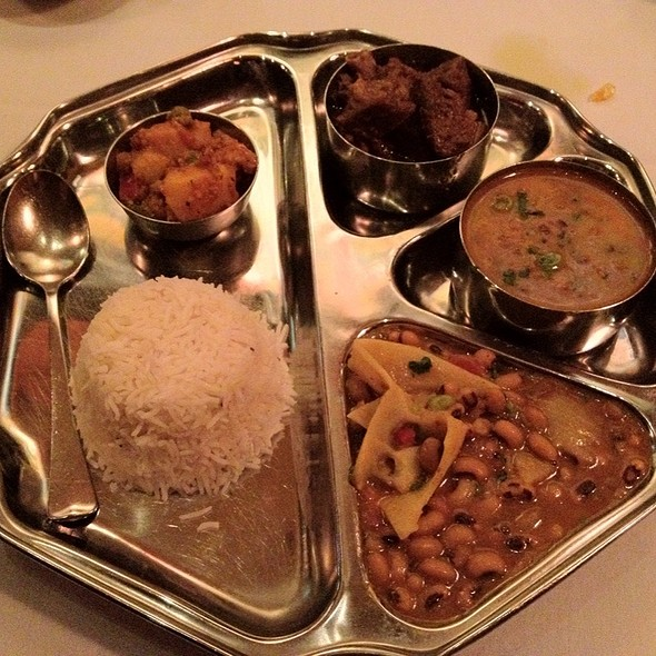Dal Bhaat Thali - Himalayan Heritage Restaurant & Bar, Washington, DC