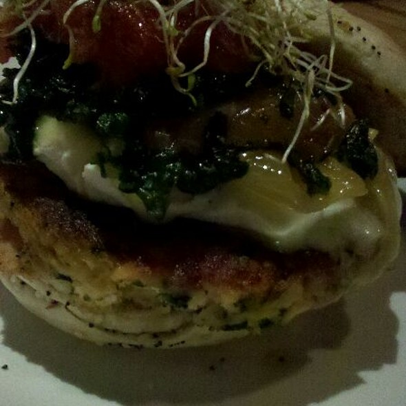 Build Your Own Veggie Burger @ Bar 145