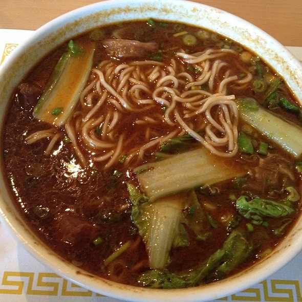 Beef noodle soup @ Mimi's House