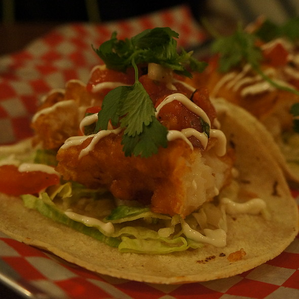 Fish Taco @ The One That Got Away