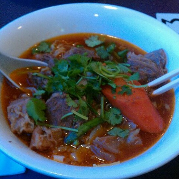 Combo Rice Stick And Noodles Soup @ red bowl noodles