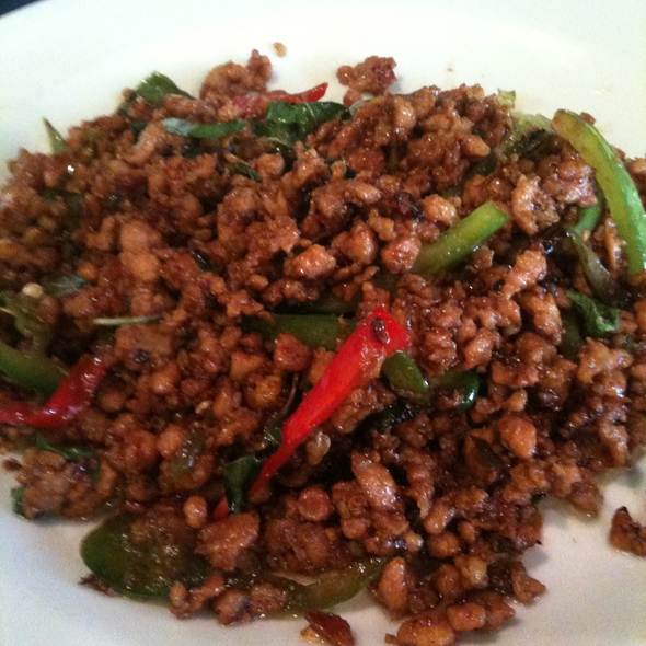 Basil Chicken @ Lime Juice Thai Bistro