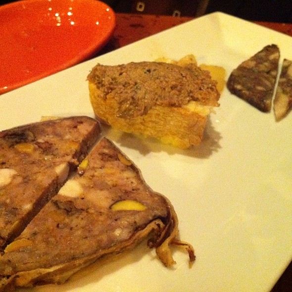 Charcuterie plate @ Dino Restaurant