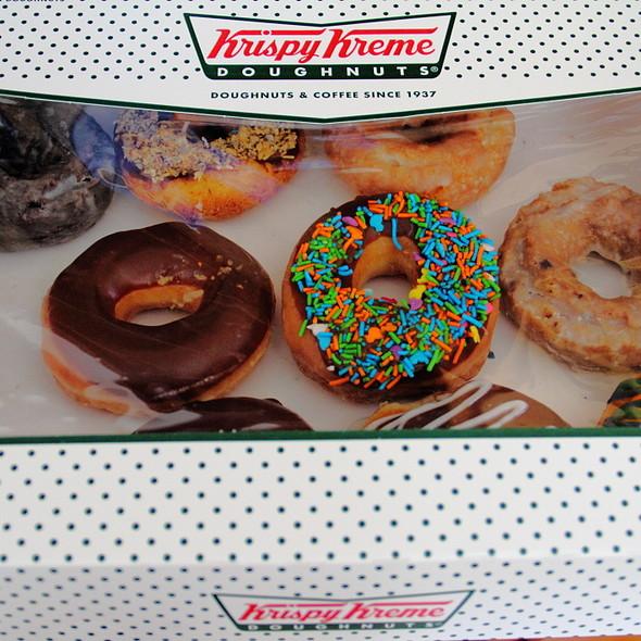 Dozen Doughnuts @ Krispy Kreme Doughnuts
