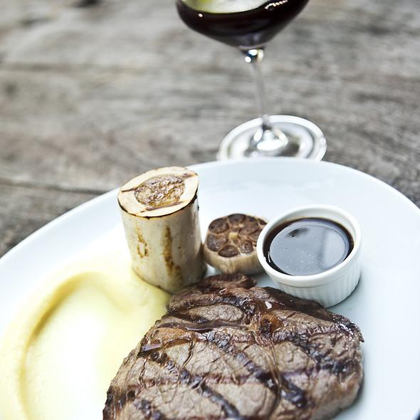 Rib Eye Steak  @ Brasserie Wolf