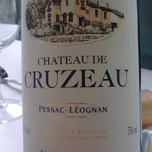 Wine Pessac Léognan @ Château de Cruzeau