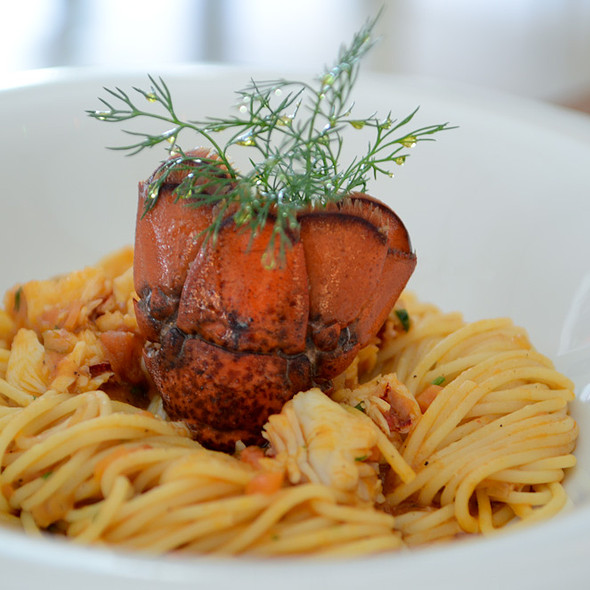 Spaghetti with lobster @ Lucca