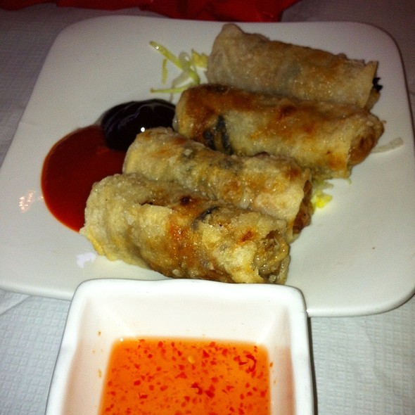 Spring Rolls @ Song Que Cafe Ltd
