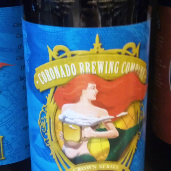 Coronado Idiot IPA @ Total Wine