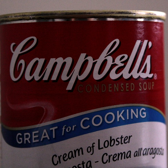 Campbell's Lobster Soup @ Home