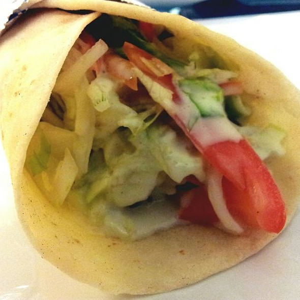 Chicken Shawarma Sandwich @ The Kebab Factory