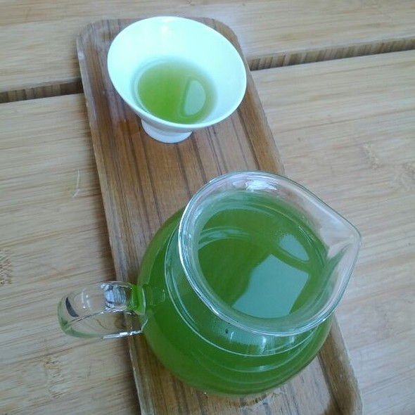 Green Tea Matcha @ Samovar Tea Lounge