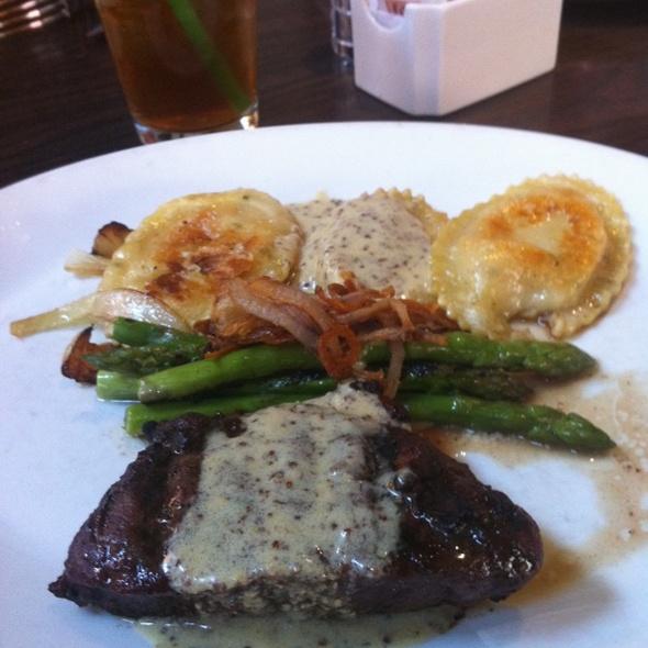 Steak And Perogies @ Six Penn Kitchen