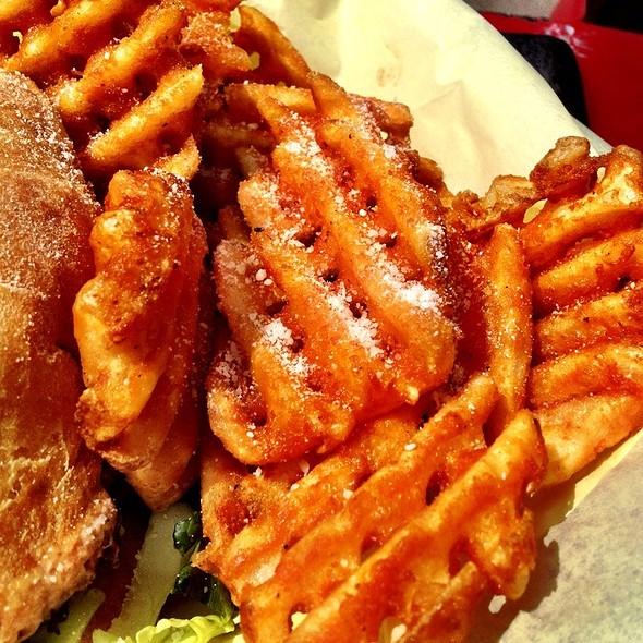 Waffle Fries @ Fuzion Eatz