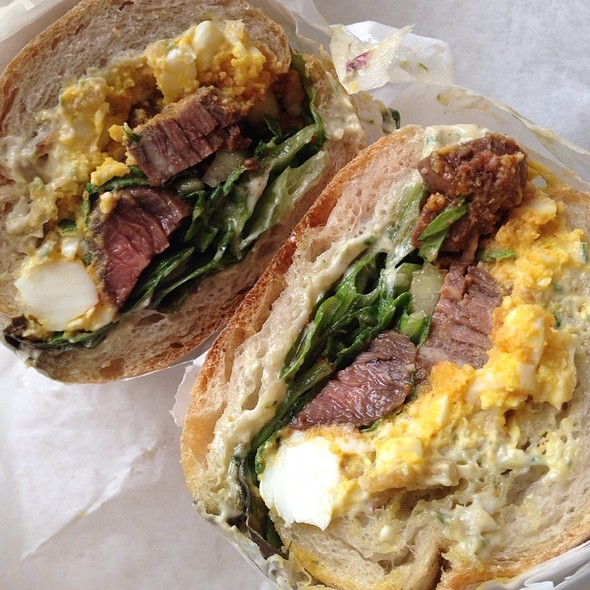 Steak 'N Eggs @ Pal's Take Away