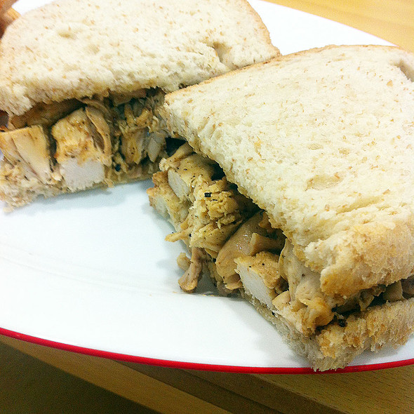 Chicken Sandwich @ Kool's @ Denia